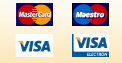 Doneer met credit card